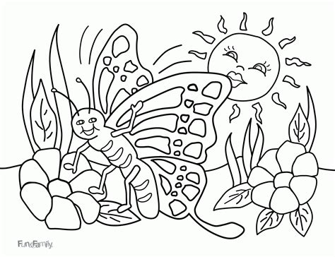 spring coloring pages for adults pdf spring break coloring page coloring home