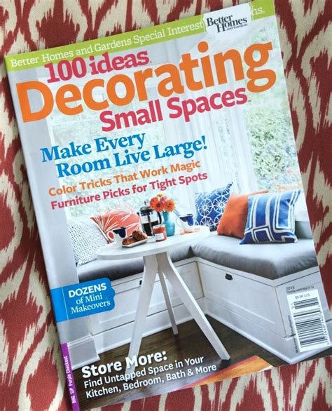 Small Space Decorating Magazine by Publication Feature Storage 100 Ideas Decorating Small
