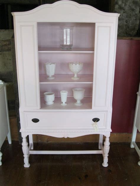 Painted China Cabinet by White Painted China Cabinet Project Bar