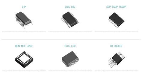integrated circuit chip types ic shipping antistatic plastic integrated circuit holder chip storage bee packaging 719