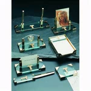 Desk Accessory Sets Glass 7 Desk Accessory Set At Hayneedle