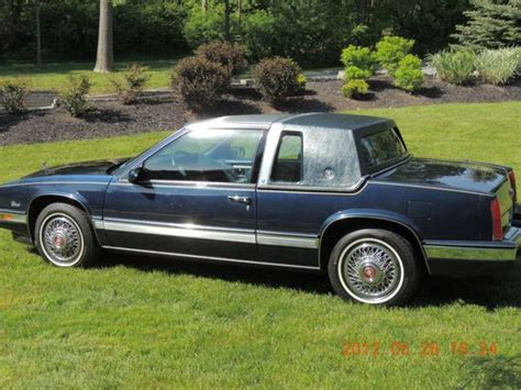 1988 Cadillac Coupe by Sell Used 1988 Cadillac Eldorado Biarritz Coupe 2 Door 4