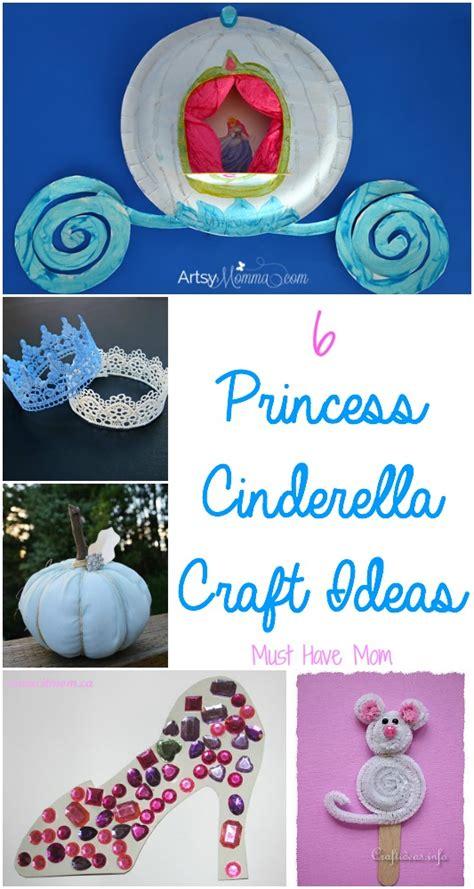 cinderella crafts for 6 princess cinderella craft ideas
