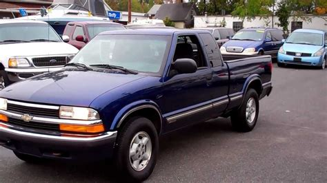 1999 chevrolet s 10 ls extended cab 4wd 3dr 4 3l v6 at youtube