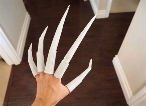 How To Make Origami Finger Claws - best 25 creepy costumes ideas on scary