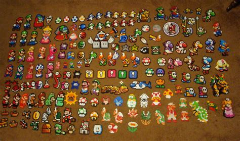 perler bead mario mario perler collection by pika robo on deviantart