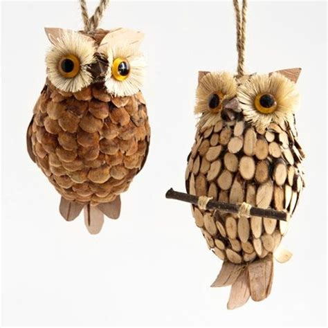Handmade Owl Decorations - 11 best images about woodland tree ornaments on