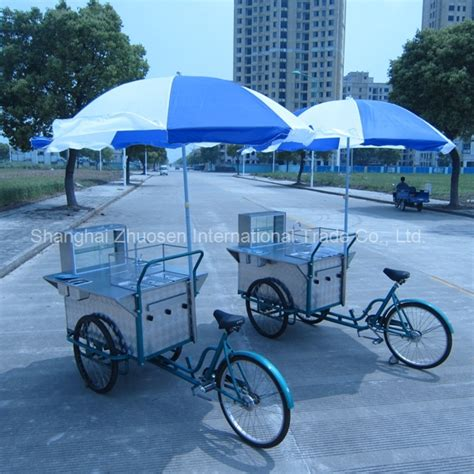 order a mini cart bicyclecart newest tricycle bbq coffee dinning crepe bicycle cart zs