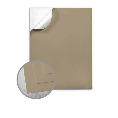 Label Paper - brown kraft labels 8 1 2 x 11 sheet 10 mils