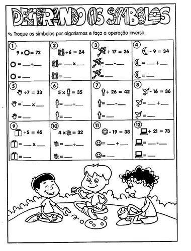 operacoes matematicas atividades parte