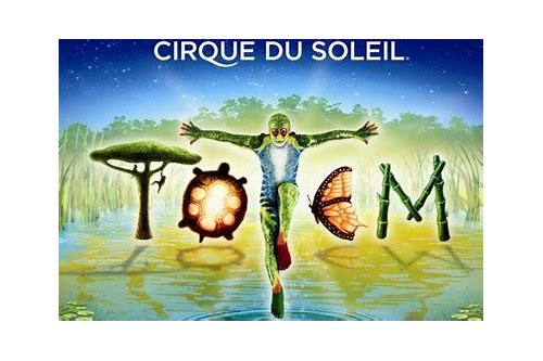 cirque du soleil totem ticket deals