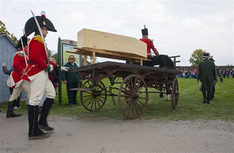 sir isaac brock to be burried at fort george 1812 news