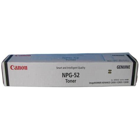 Toner Npg 52 canon gpr 36b black toner cartridge genuine npg 52b