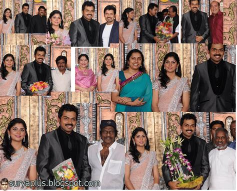 All Marriage Photos by Surya Jyothika Family Album Karthi Wedding Photos