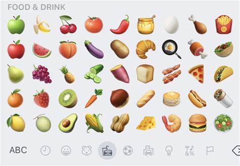 drink emoji iphone avocado and bacon emojis are finally here with apple s
