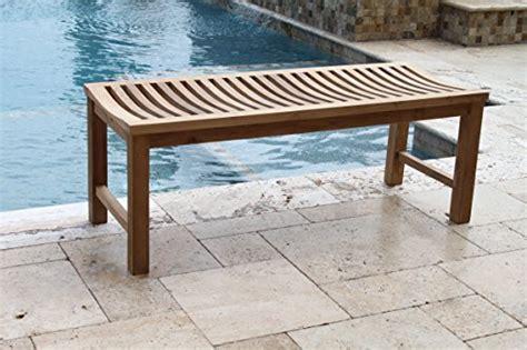 outdoor shower bench 48 quot solid teak indoor outdoor bench shower stool from