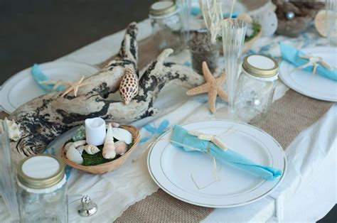 themed table centerpieces 1000 images about table decorations for theme on theme decorations sea