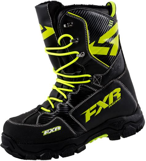 fxr x cross boots snowmobile water resistant mens us9