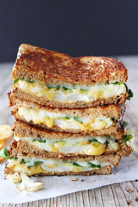 cauliflower grilled cheese roasted cauliflower grilled cheese two peas their pod