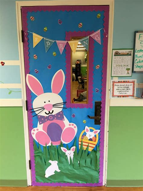 easter door decorations easter classroom door ideas