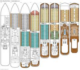 deck plans silver muse deck plans cabin diagrams pictures
