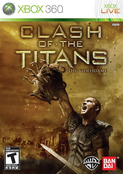 Clash Of The Titans Xbox 360 Game | xbox 360 clash of the titans pal y ntsc j ingl 233 s sub