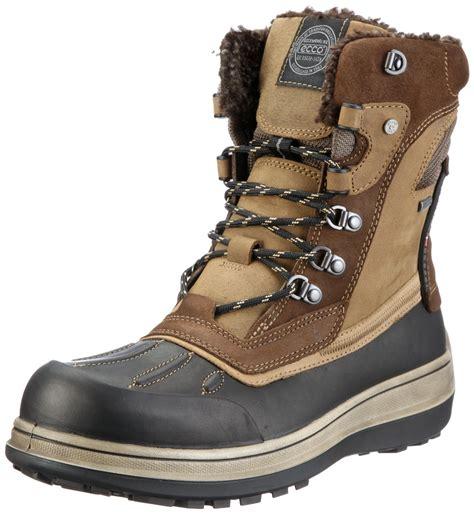 ecco mens boots ecco roxton gtx high boot in brown for black navajo