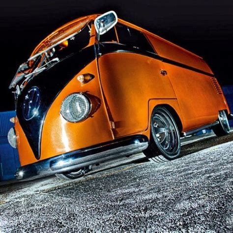 black volkswagen bus vw bus t1 window orange black vw s pinterest