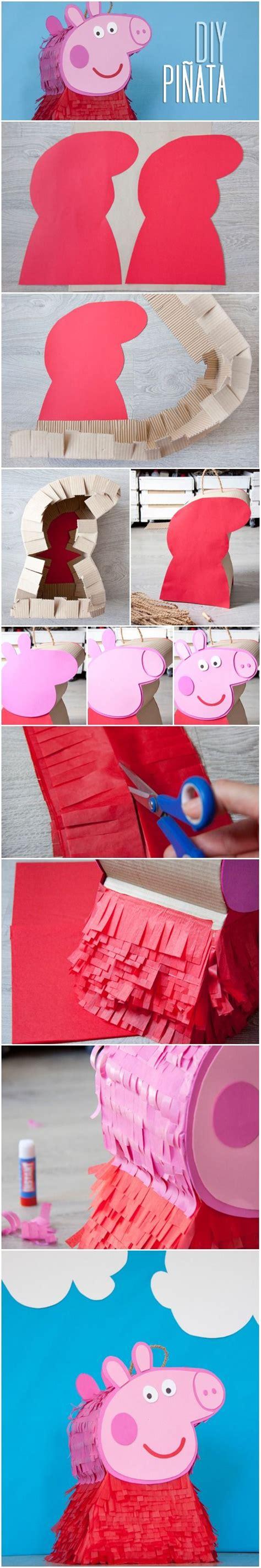 piñata diy tutorial diy c 243 mo hacer una pi 241 ata de peppa pig diy