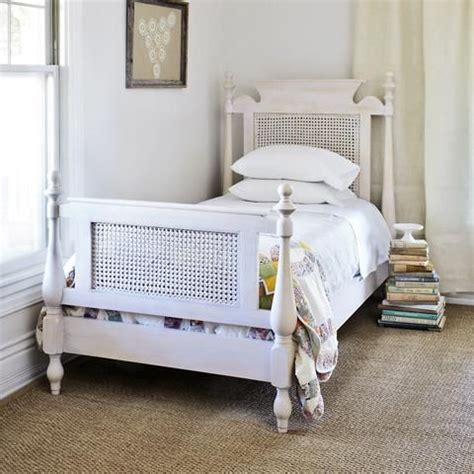rattan headboards twin beds twin bed rattan a girl can dream pinterest