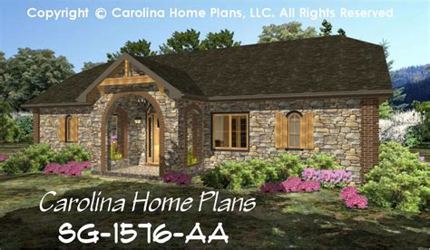 Stone House Plans small stone cottage house plan chp sg 1576 aa sq ft