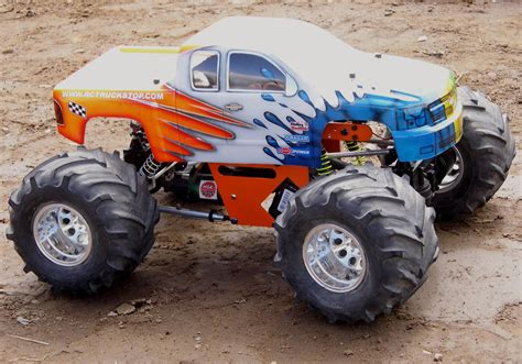 monster truck race monster trucks hit the dirt rc truck stop