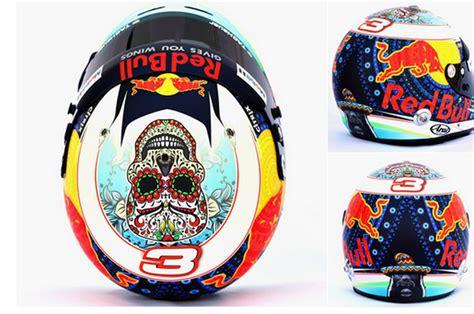 desain kemeja tim balap menyeramkan desain livery helm pembalap tim red bull