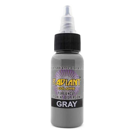 what is in tattoo ink ink radiant colors gray