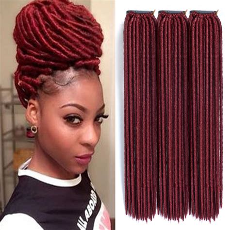 faux locks dreads prices crochet faux locs crochet hair 18 inch dreadlock