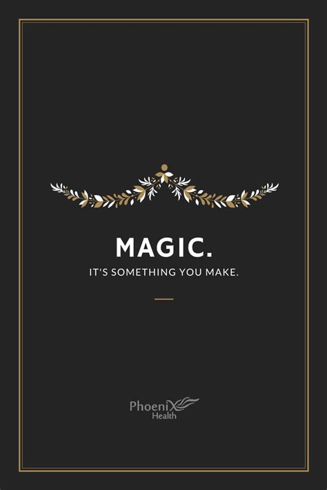 Magic Motivation monday motivation magic it s something you make health