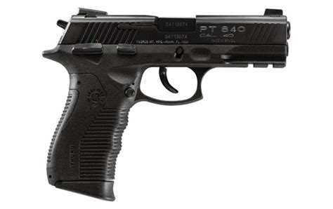 Taurus Pt 840 40s W taurus pt 840 pistol specs info photos ccw and