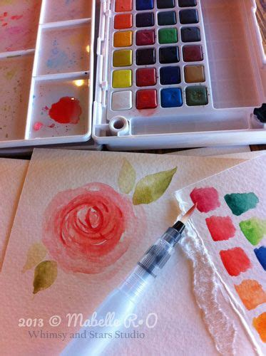 watercolor tutorial sakura koi 33 best images about koi brush pen how to use on