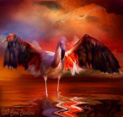 Flamingo Sunset spirit of the series flamingo sunset flamingo with