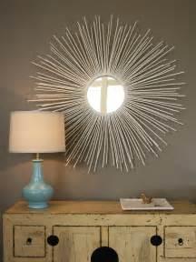 home decor mirror diy home decor stylish sunburst mirror diy crafts mom