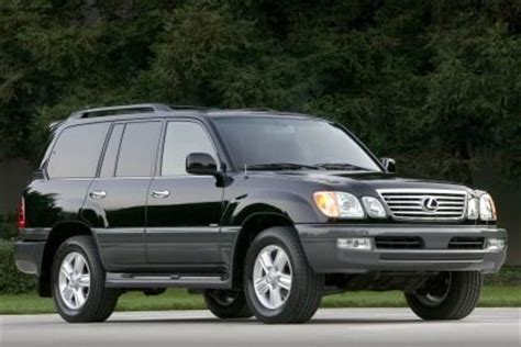 older lexus suvs lexus lx 470 review research new used lexus lx 470