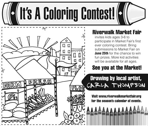 Coloring Contest Free Large Images