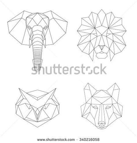 imagenes animales geometricos las 25 mejores ideas sobre animales geometricos en
