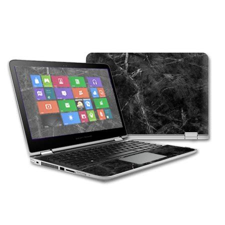 mightyskins protective vinyl skin decal for hp pavilion