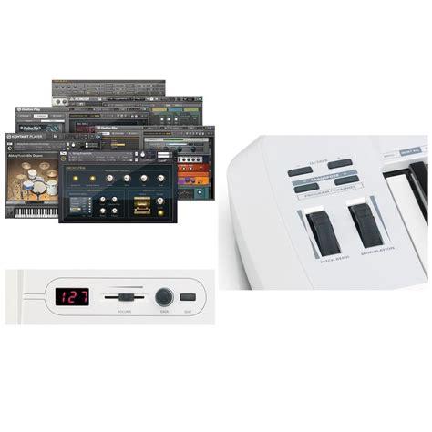 Samson Carbon 61 Usb Midi Controller 1 samson carbon 61 midi keyboard controller med 49 tangenter