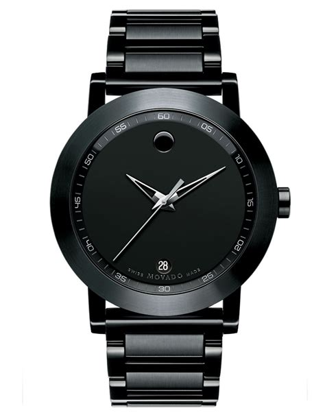 Movado Mens Museum Sport Black Watch in Black for Men   Lyst