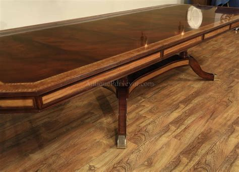 dining room tables with self storing leaves large mahogany dining table with self storing leaves