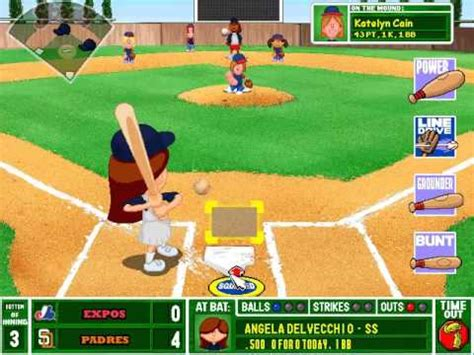 Backyard Baseball Stats Backyard Baseball Postseason Gameplay Nlcs 1 Padres