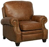 barcalounger longhorn ii recliner barcalounger longhorn ii top grain leather recliner chair