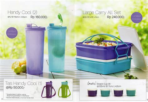 Tupperwarw Tas Handy Cool Lkj87 tupperware promo november 2016 katalog promo tupperware